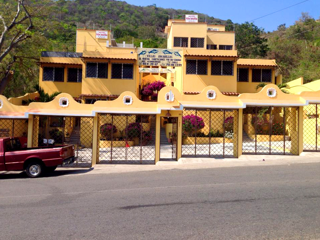 Hospedaje Ixtapa Zihuatanejo Hotel Villas Amarillas
